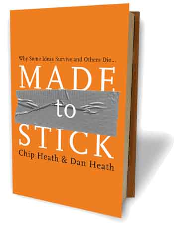 Bookcover: Made To Stick