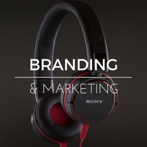 Image of Sony Headphones for link to Miceli Productions Branding & Marketing video samples
