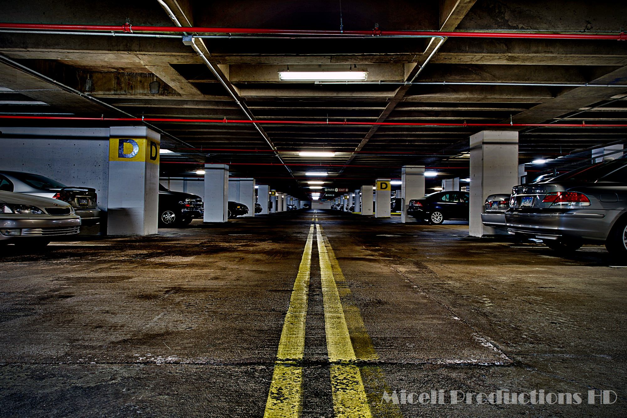 Wet Garage, Photography by Miceli Productions