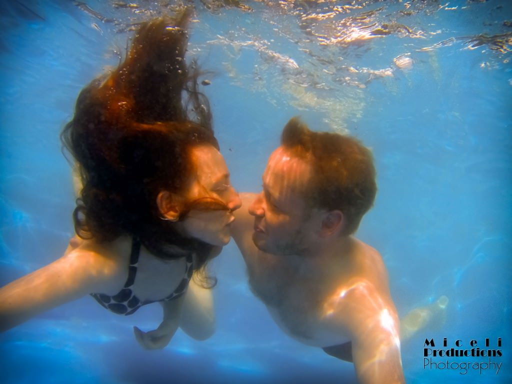 Underwater Summer Love, underwater photography