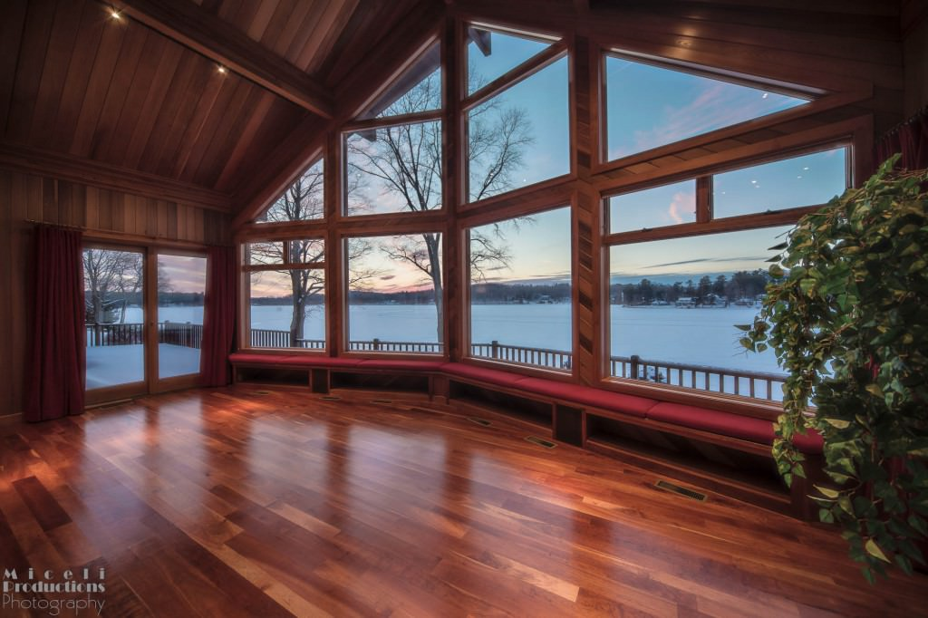 Bantam Lake Home. © Miceli Productions Photography
