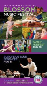 Blommon Music Festival 2014 Postcard