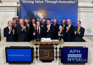 Amphenol APH at the New York Stock Exchange NYSE