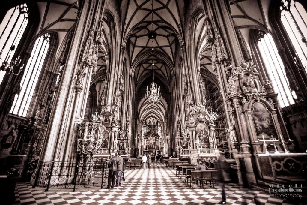 St. Stephen's Cathedral in Vienna, Austria (Stephansdom Wein, Austria)