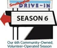 Southington Drive In Sign promoting Season 6, Southington, CT