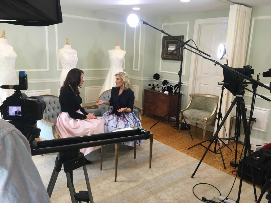 Miceli Productions behind the scenes with Beth Chapman.
