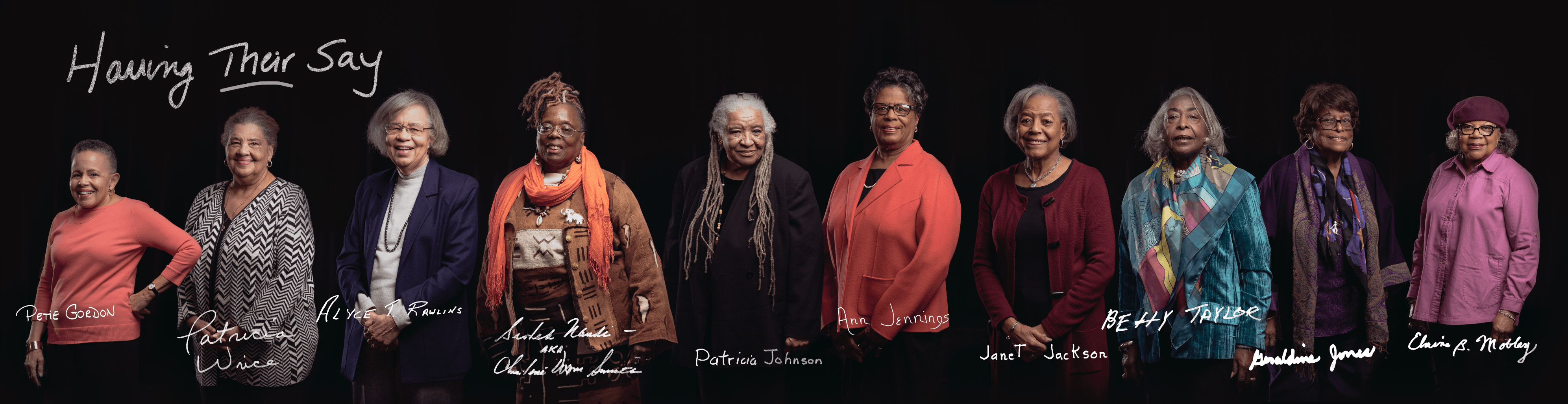 Having THEIR Say: Generations in Conversation is a project initiated by Hartford Stage and filmed by Miceli Productions, inspired by the Delany Sisters. Young Hartford area students interview women about their experiences as African-Americans through the civil rights movement to the present.