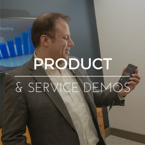 Product demo videos, service demos. Video production and photography for product demos.