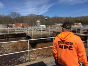 Southington Wastewater Treatment Plant. Photo by Miceli Productions, serving Hartford CT.