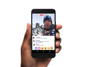 Facebook Live, from Facebook