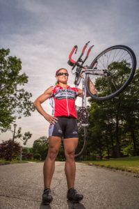 Cyclist photo by Miceli Productions. Fitness photography in Southington CT.