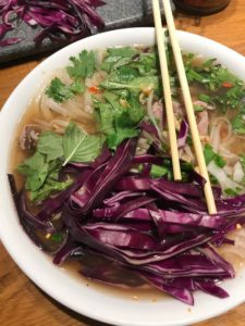 Pho made from scratch. Image of asian Vietnamese Pho soup. Food photography by Miceli Productions PHOTO + VIDEO