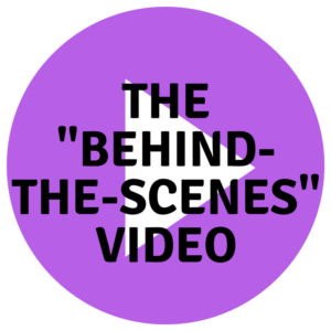 "THE ""BEHIND-THE-SCENES"" VIDEO, post by Miceli Productions. CT Video production."